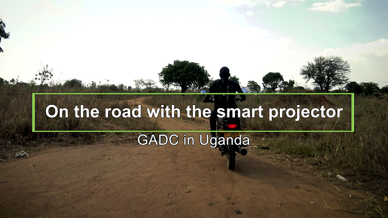On the road with the smart…