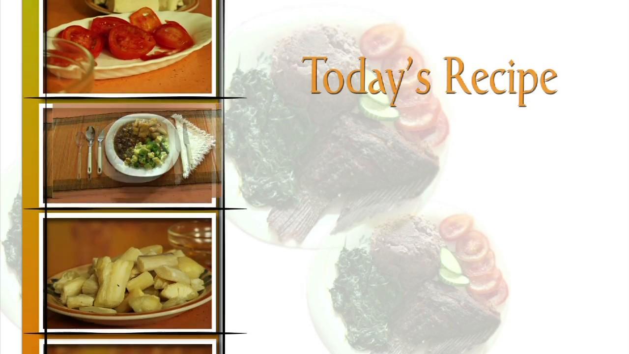 Cassava Curry Recipe - African…