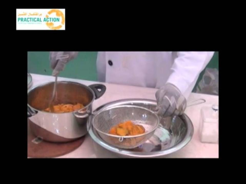 How to make mango taragat