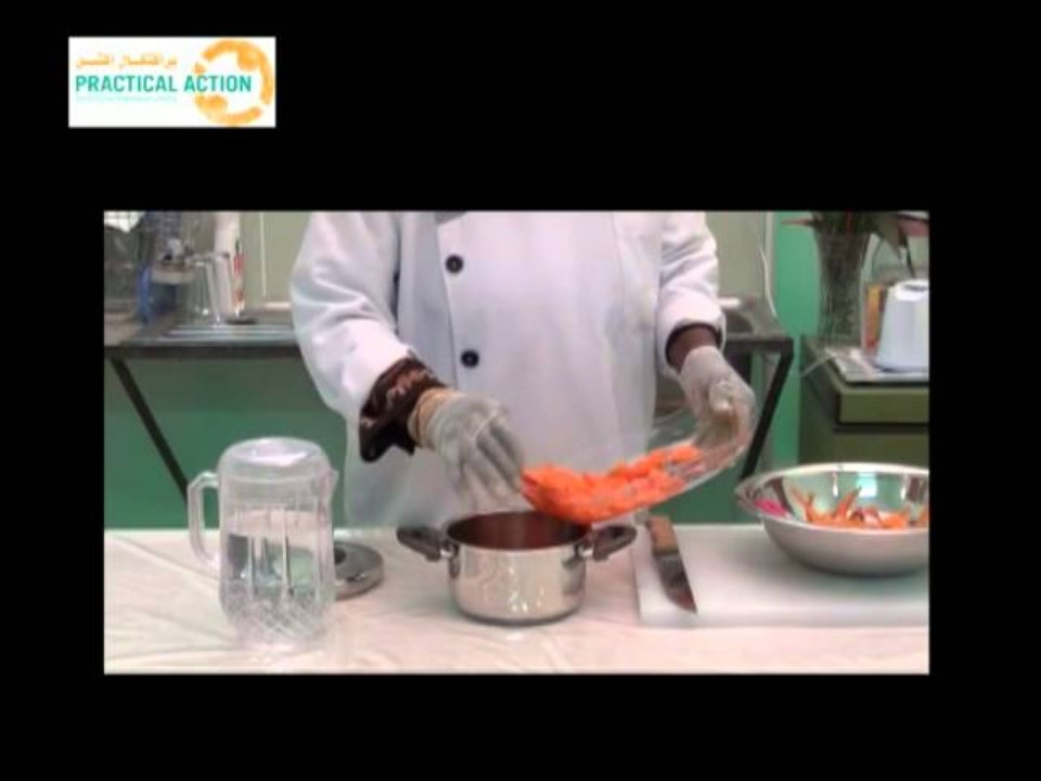 How to make carrot juice…