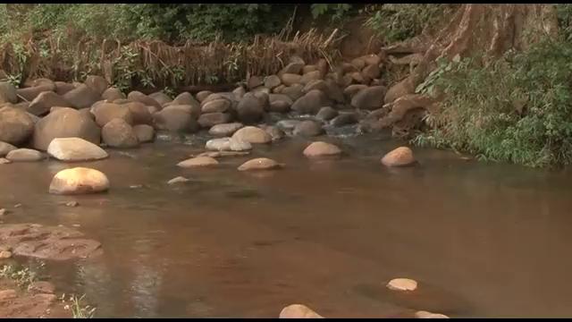 Depositing water at the bank