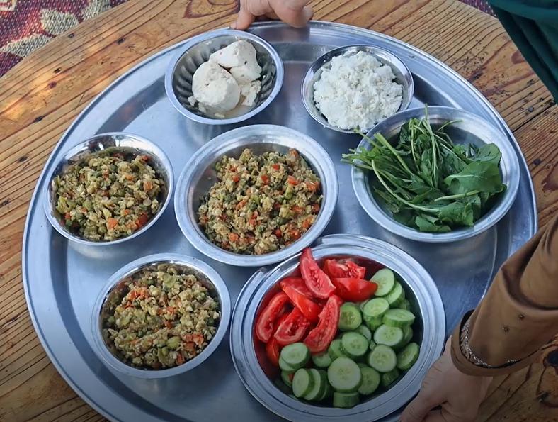 Kishk Saedi with Vegetables -…