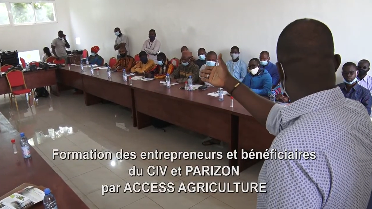 GIZ-funded CIV/PARIZON project : Training of…
