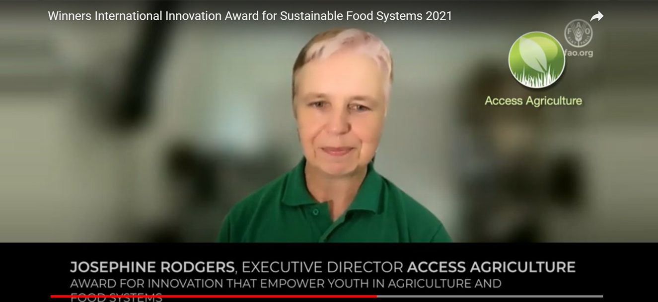 Access Agriculture - Winner of International…