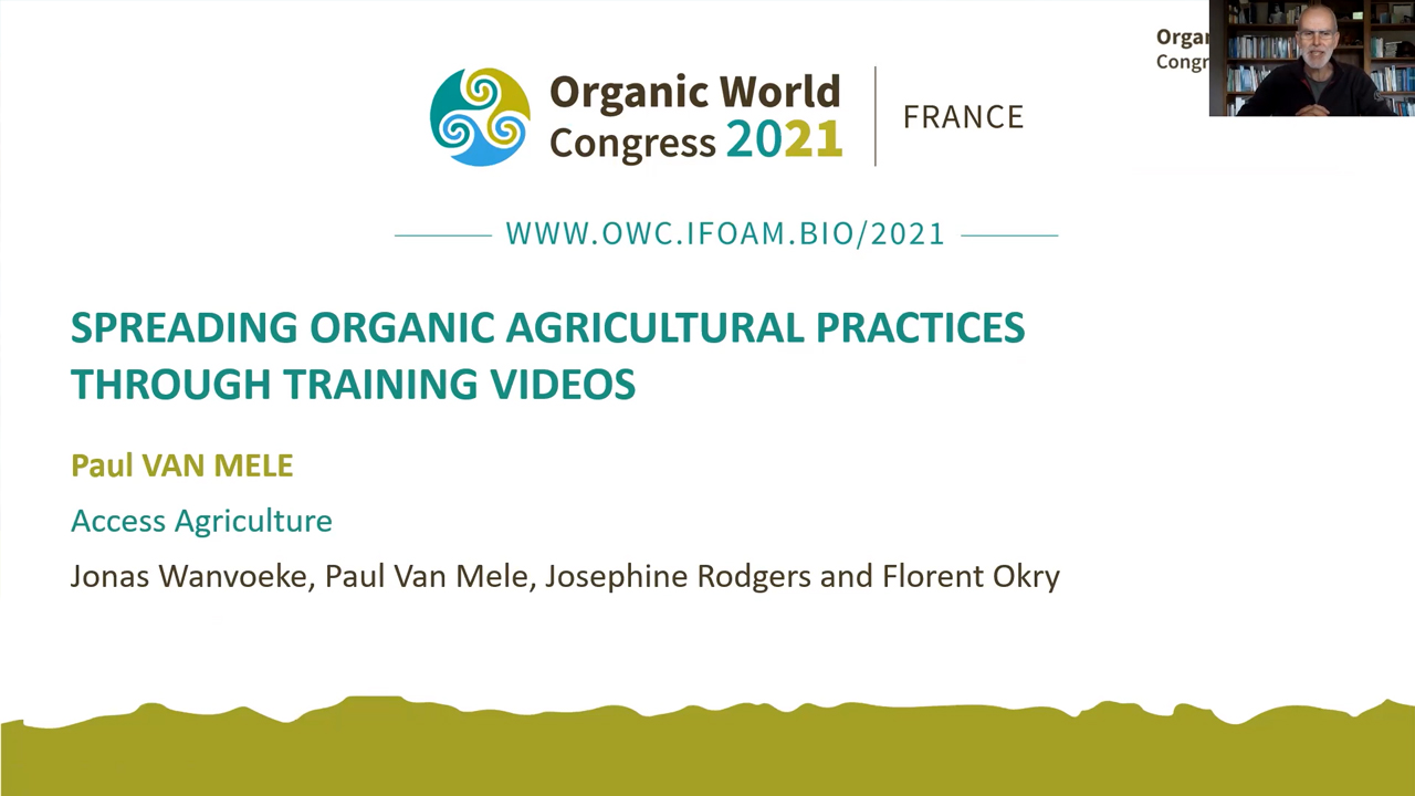 Spreading organic agricultural practices…