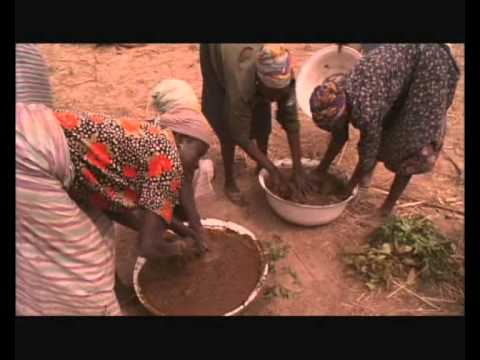 African Earth House - Adobe house…