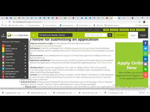 How to fill the online application for Young…